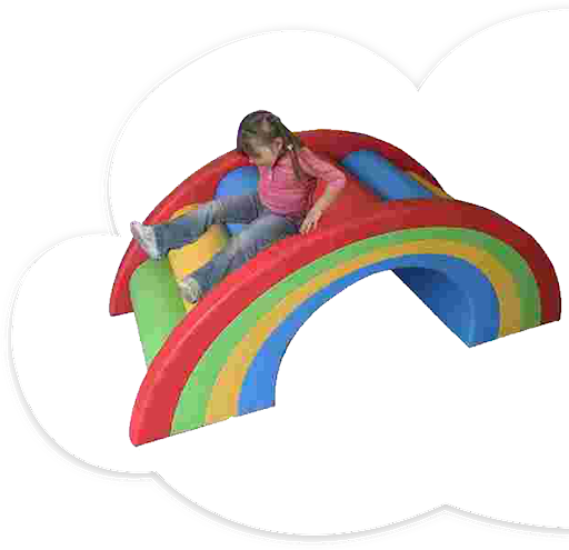 Soft Play Rainbow Bridge