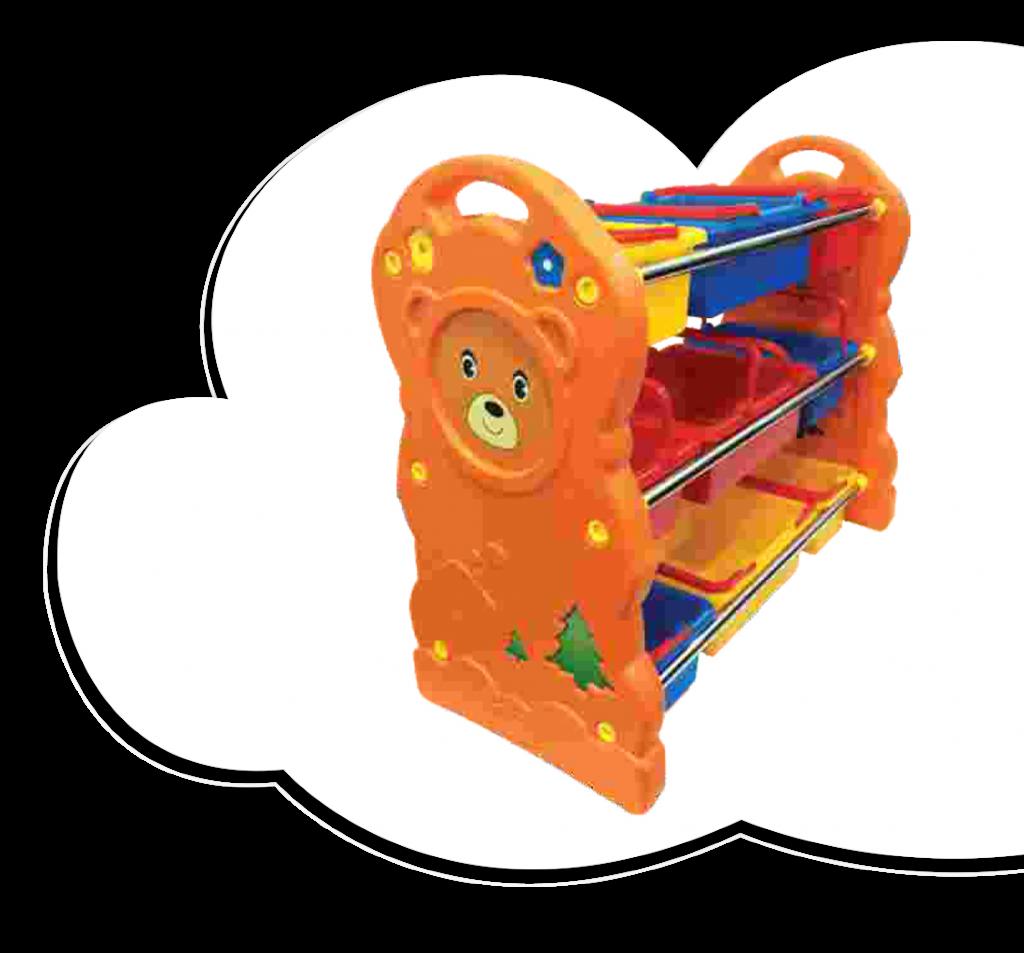 Bear Toy Shelf
