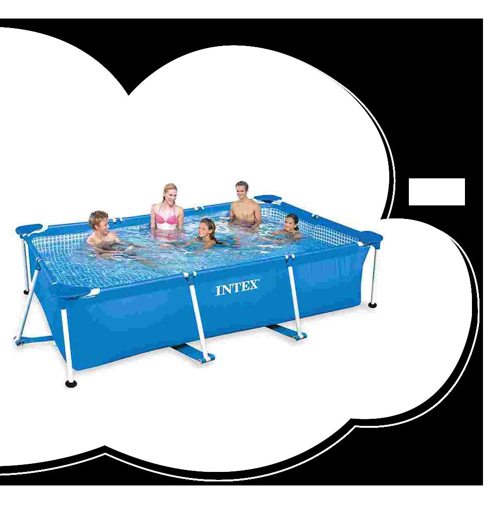 Intex 10 ft. Rectangular Frame Pool