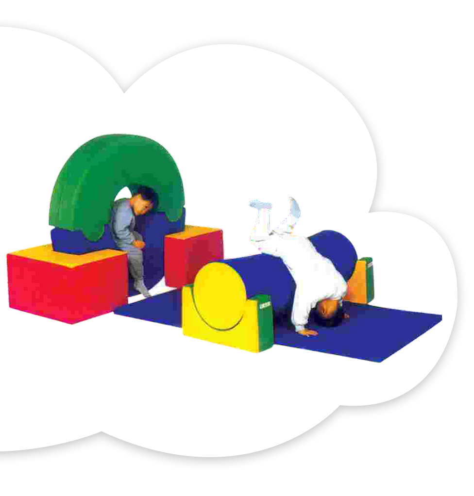 Soft play Ring & Roller Set