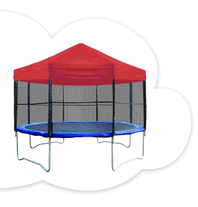 Trampoline With Canopy