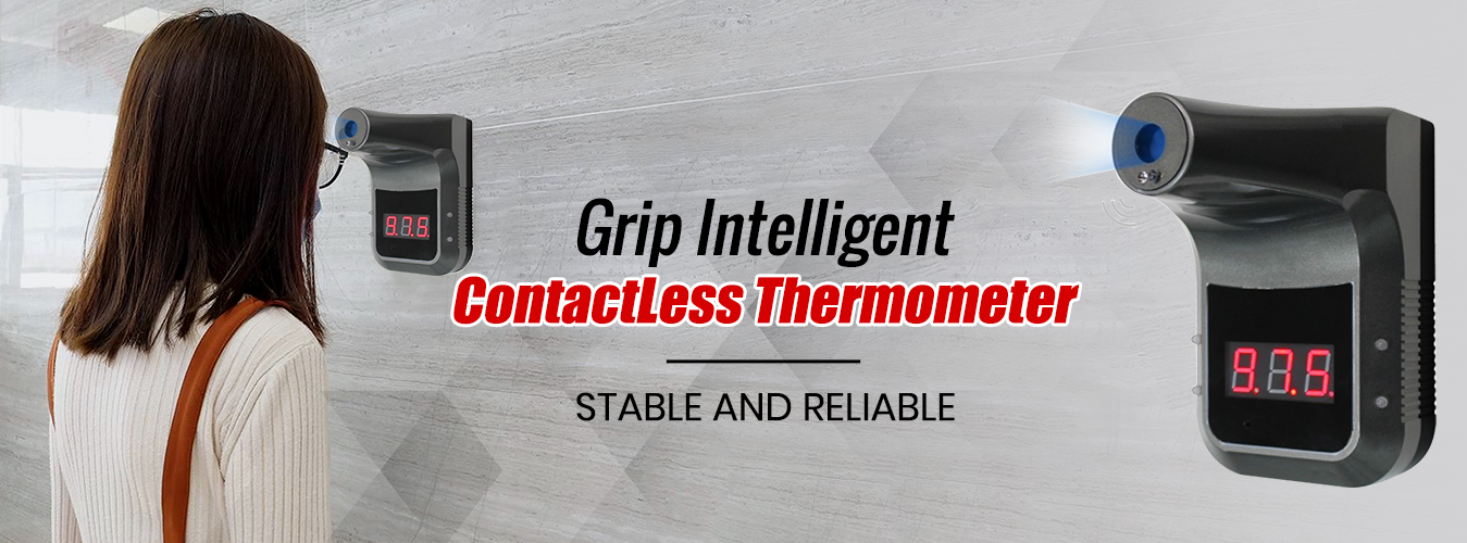Grip Intelligence Contact less Thermometer